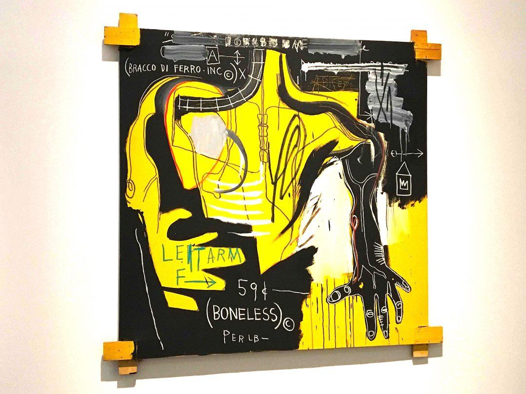 Jean-Michel Basquiat in mostra a Milano