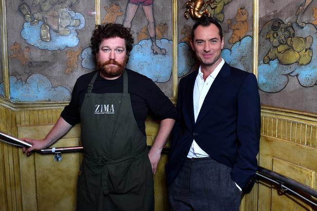 A Londra con Jude Law