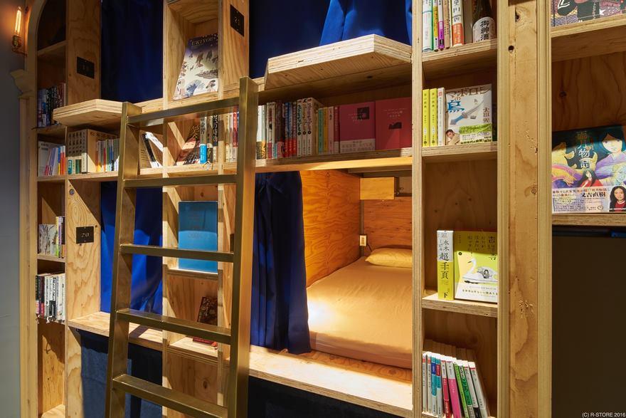 Ostelli-libreria, l'ultimo trend in Giappone