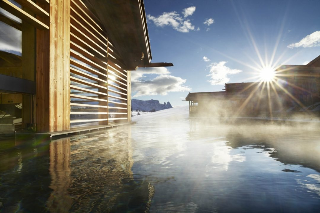 Relax vista neve: 30 spa alpine