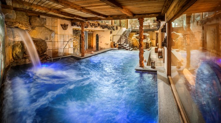 Foto Relax vista neve: 30 spa alpine