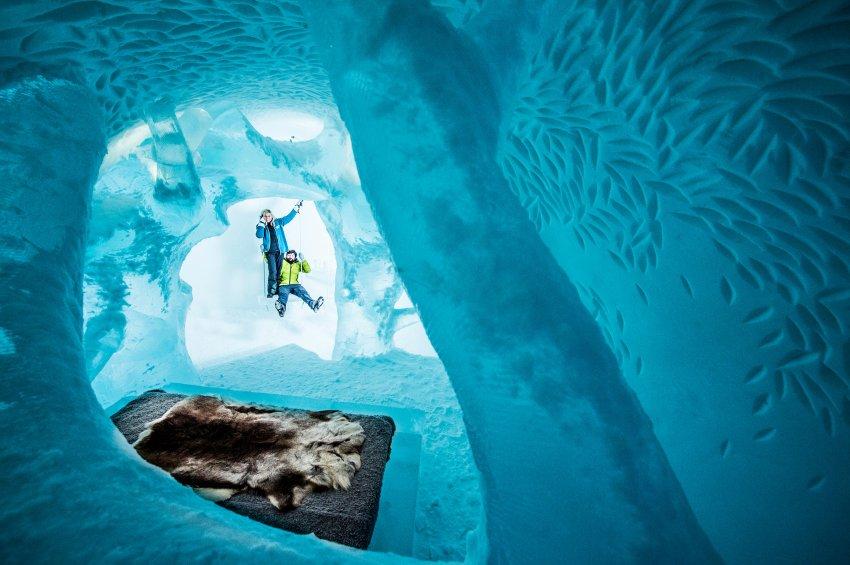 Il nuovo hotel di ghiaccio IceHotel 365