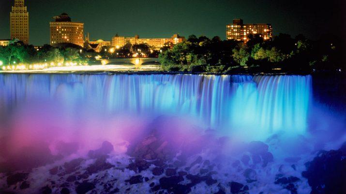 Foto Le cascate più famose degli Usa a colori
