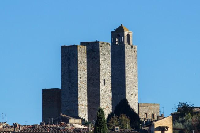Un particolare delle torri di San Gimignano (foto A. Rizzato)
