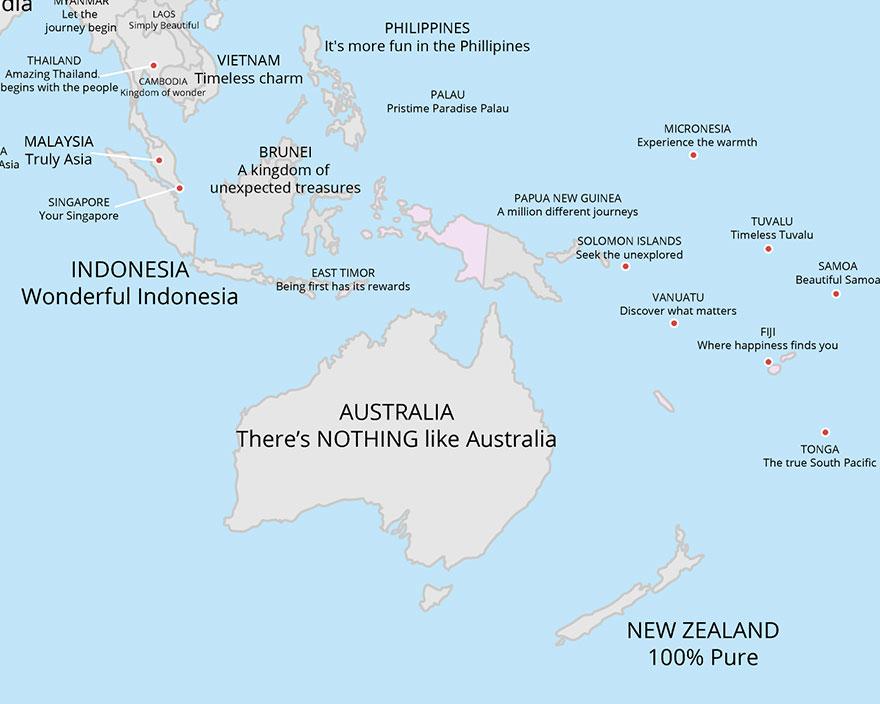 I motti (più belli e assurdi) Paese per Paese