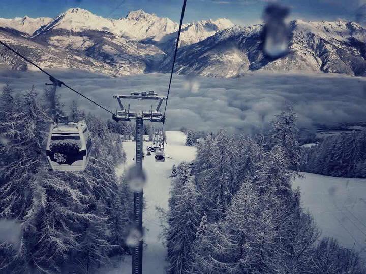Pila, lo sci a due passi dalla città
