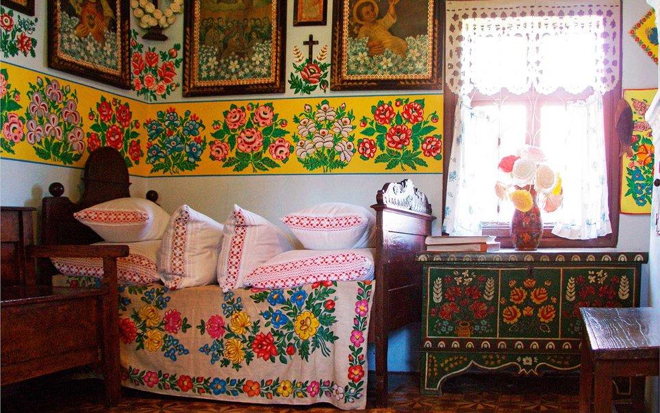 Zalipie, il villaggio delle case dipinte