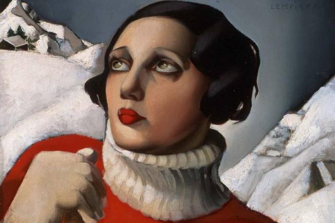Tamara de Lempicka, Saint-Moritz, 1929