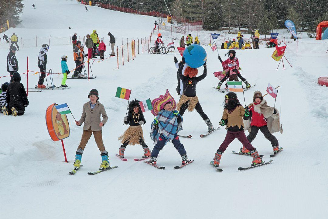 Carnevale sulla neve (con i figli)