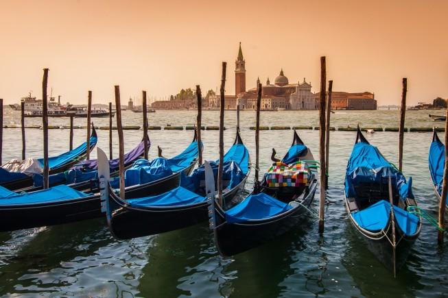 Tramonto a Venezia. Foto Istock