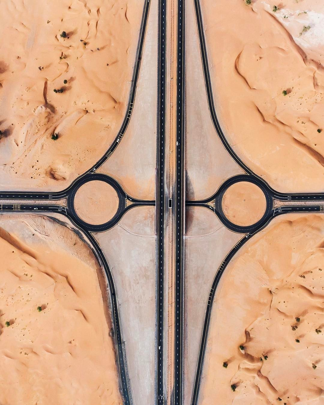 Scatti surreali del deserto arabo