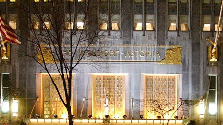 Foto Il mitico Waldorf di New York