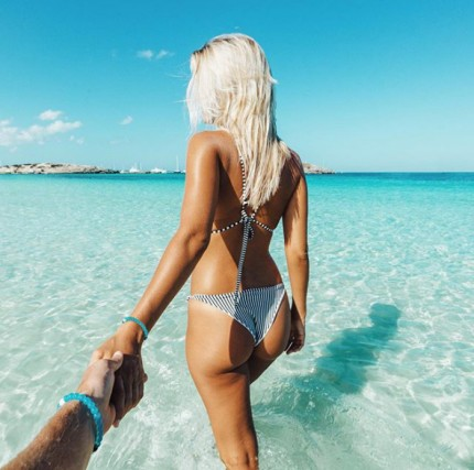 La vita da sogno della coppia più bella di Instragram