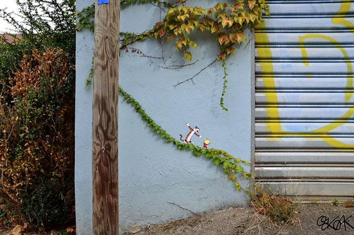 Opere tra street art e natura in giro per il mondo