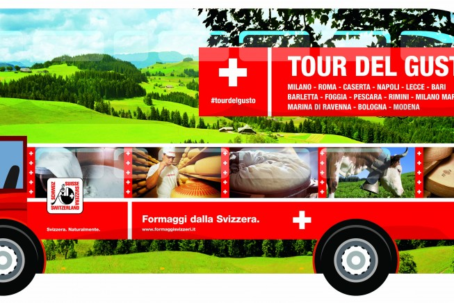 Doble Decker-Formaggi svizzeri Maggio 2017