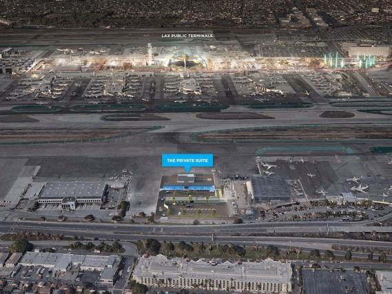 Il terminal dei vip a Los Angeles