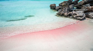 Elafonissi beach is one of the best beaches of Europe. There are pink  sand.