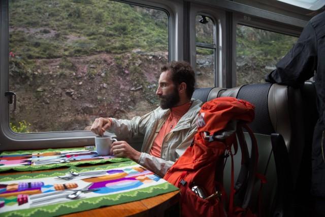 Il percorso ferroviario che conduce nell'area archeologica di Machu Picchu, in Perù