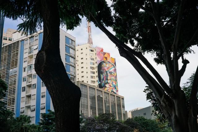 La città di San Paolo, toccata da Alex Bellini durante il suo itinerario: tra architetture moderne e natura