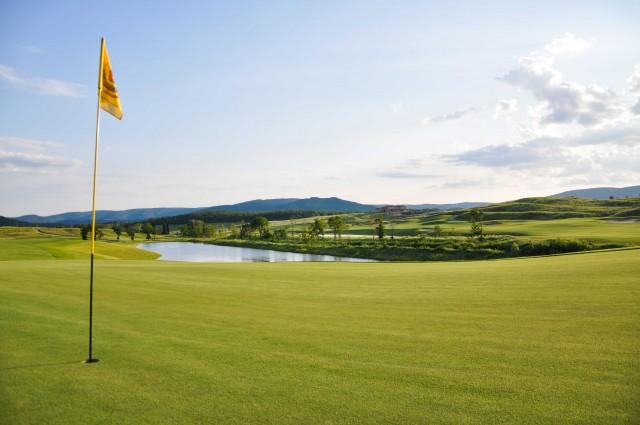 Il campo da golf 18 buche deLa Bagnaia Golf & Spa Resort Siena.