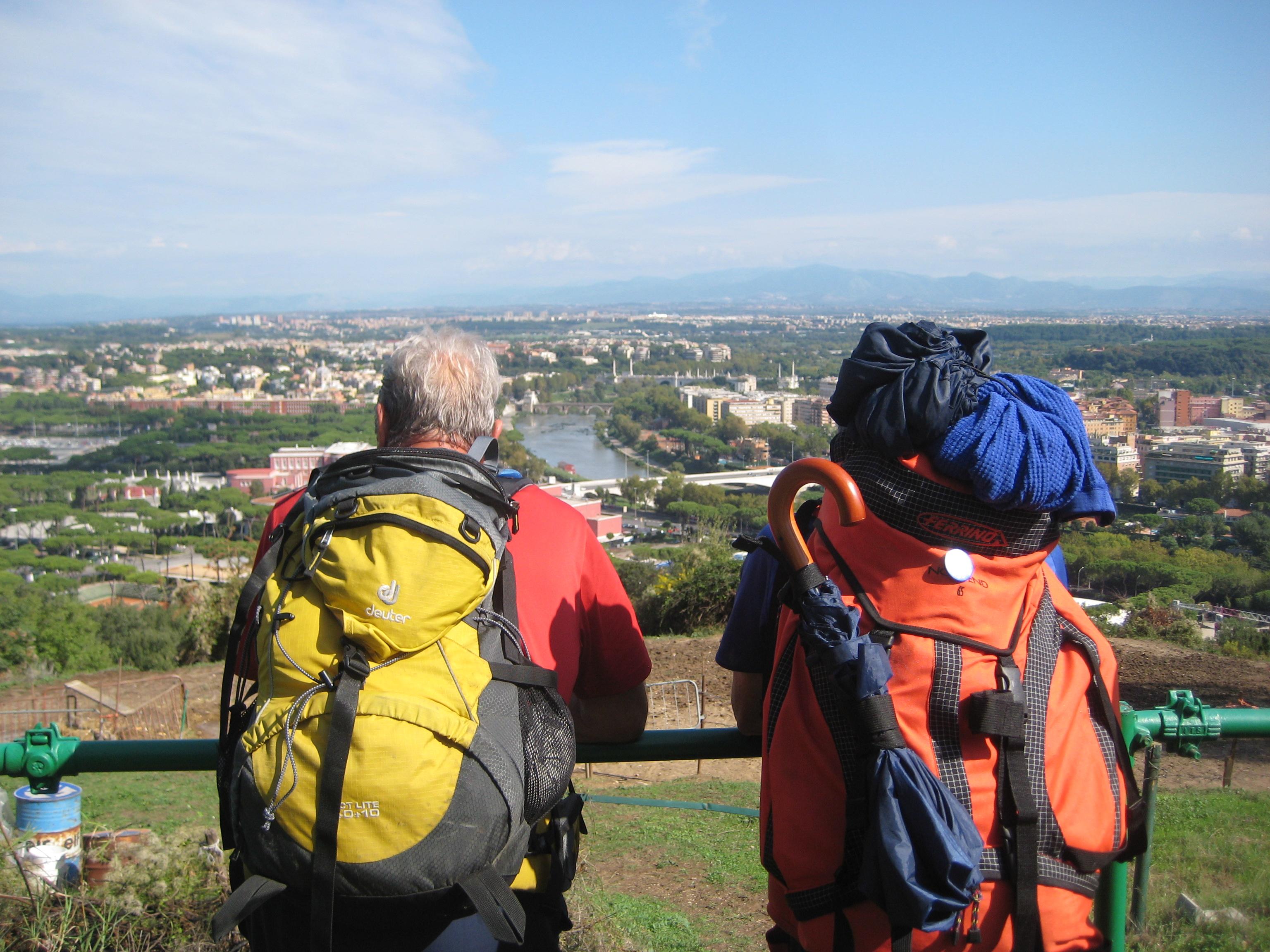 La Via Francigena a puntate: l'ultima fatica, da Viterbo a Roma