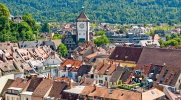 City of Freiburg, Black Forest, Germany