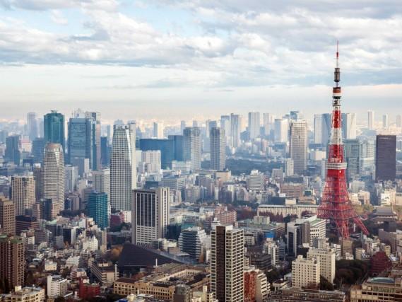 16° POSTO – TOKYO, GIAPPONE Edifici: 2.842 Superficie: 620 chilometri quadrati