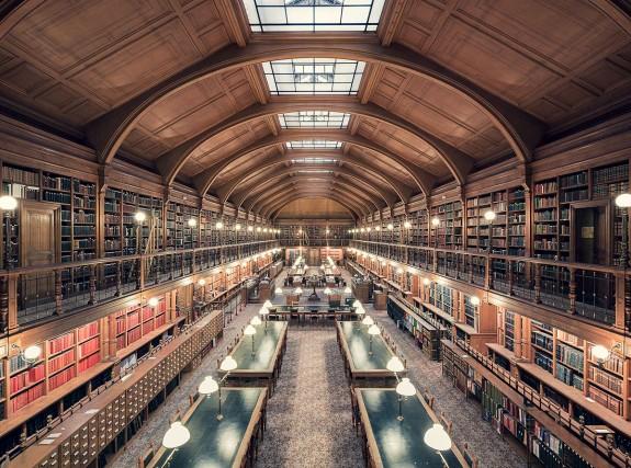 Bibliothèque de l'Hotel de Ville de Paris, Parigi, 1890