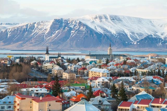 ISLANDA – 38 giorni di ferie anche in Islanda, di cui 14 sono per festività nazionali. In foto: Reykjavik.