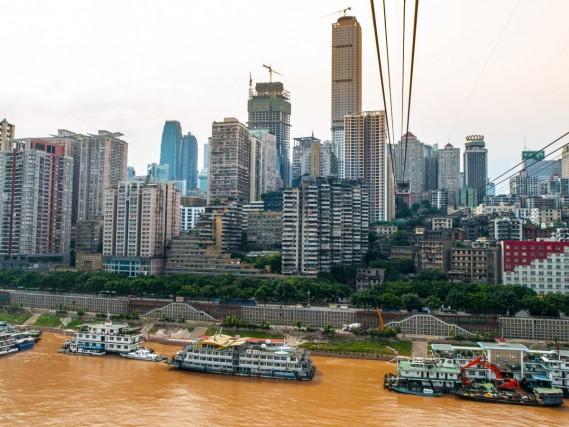 3° POSTO – CHONGQING, CINA Edifici: 1.732  Superficie: 82.403 chilometri quadrati