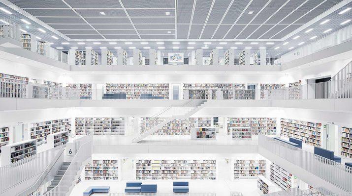 Foto Le biblioteche più belle