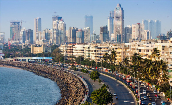 19° POSTO– MUMBAI, INDIA Edifici: 2.484 Superficie: 621 chilometri quadrati