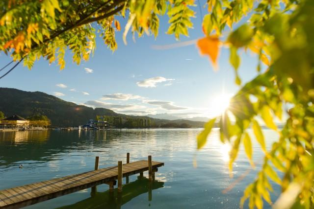 Woerthersee, il lago più amato della Carinzia.