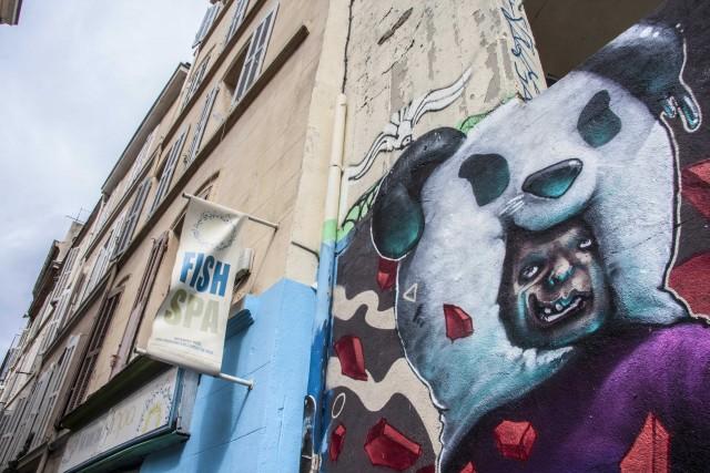 Da malfamato a quartiere di tendenza. Le Panier è formato da un dedalo di strade strette, dove si trovano locali e interessanti murales.