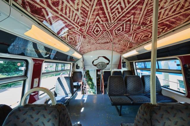 Per tutta l'estate i vagoni si travestono da Museo Quai Branly – Jacques Chirac.