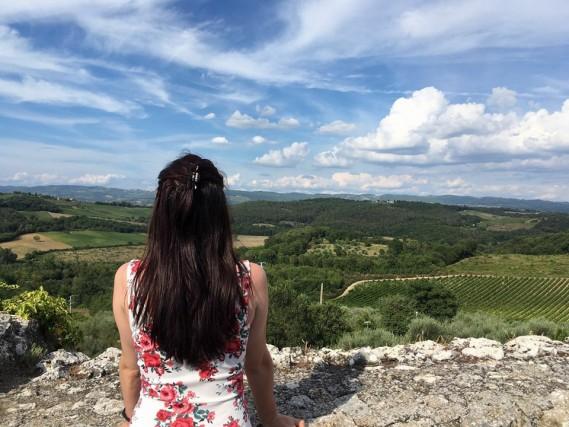 Monteriggioni, in Toscana. Di Silvia Rossi