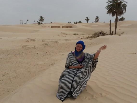 Il deserto sabbioso di Douz (la porta del deserto), in Tunisia.DiEmanuela Dattis