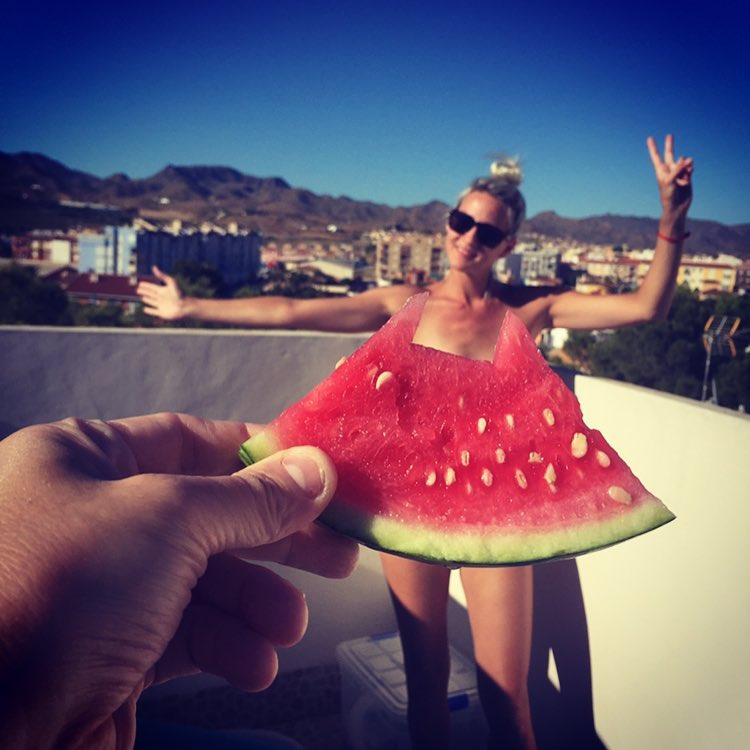 #watermelondress, tutti vestiti d'anguria
