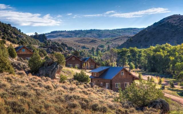 Terzo posto per il Lodge & Spa (un po' rustico, ma molto chic) del Brush Creek Ranch di Saratoga, nel Wyoming (Usa)