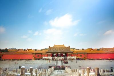 32. #ForbiddenCityLe scalinate, le torri, i tetti.La Città Proibita nel centro di Pechinoè stata a lungo la casadegli imperatori e delle loro famiglie, ma è oggi oggetto di un incessante viavai di turisti, che condividono su Instagram l'hashtag#ForbiddenCity, usato155.655 volte.