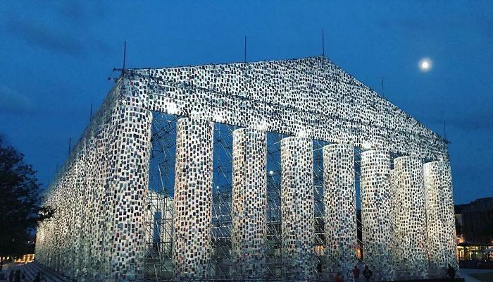 Foto Il Partenone dei libri di Kassel