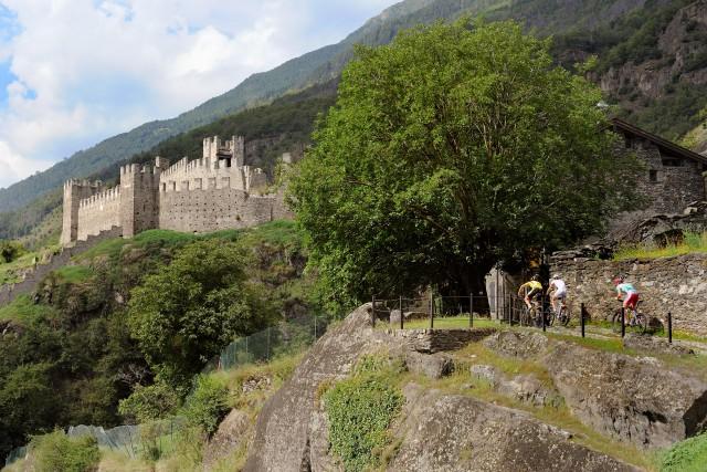 Uno scorcio del castello di Grosio