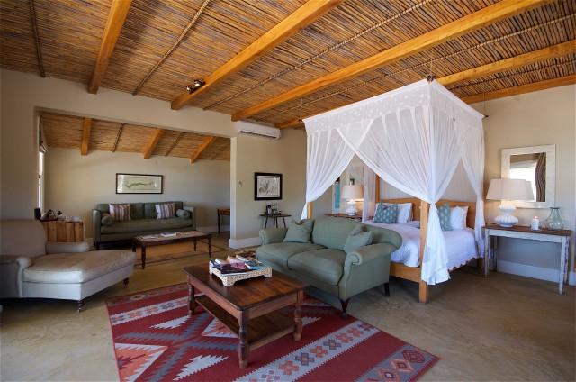 La Karoo Lodge, nella riserva privata di Samara.