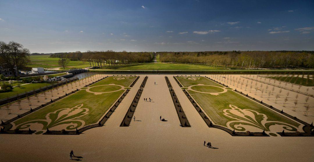 I nuovi giardini di Chambord