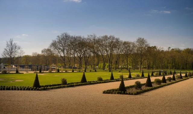 Anni di ricerche e scavi archeologici hanno restituito l'antico aspetto dei giardini di Chambord:gli alberi e arbusti sono stati piantati come in origine.