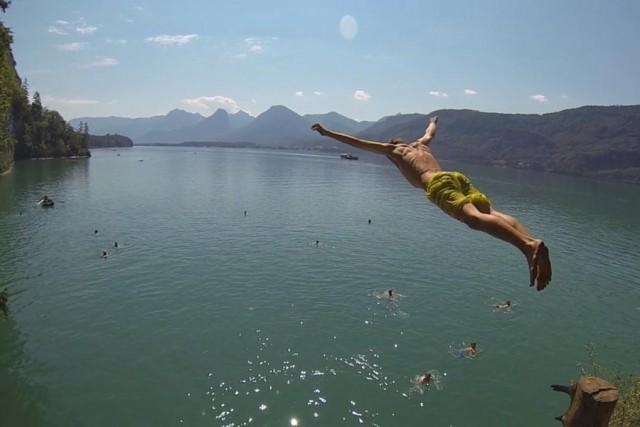 """Wolfgangsee, Austria Un po' a sorpresa, chiude la classifica di Orlando Duque una località di lago, vicino Salisburgo, che lui definisce """"perfetta per imparare""""."""
