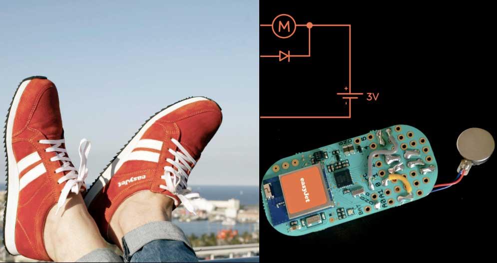 Sneakairs, le scarpe intelligenti che ti guidano per strada