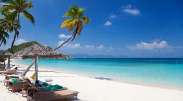 summer resort in Deadman's Bay, Peter Island, British Virgin Islands