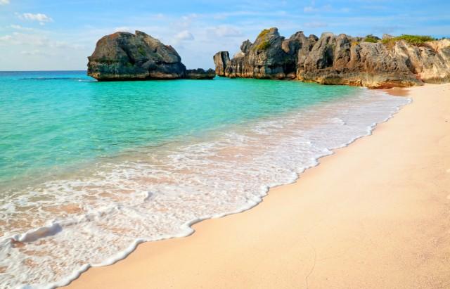 Horseshoe Bay, Bermuda Un paradiso terrestre, scelto dall'Instagramer Carly Heitlinger perché a meno di due ore di volo dalla frenesia di New York City.