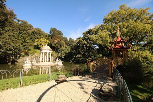 Il parco di villa Durazzo Pallavicini fu donato al Comune di Genova nel 1928